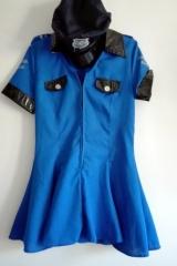 43a. Policjantka Niebieska