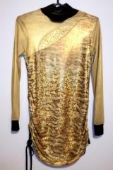 109. Złota sukienka