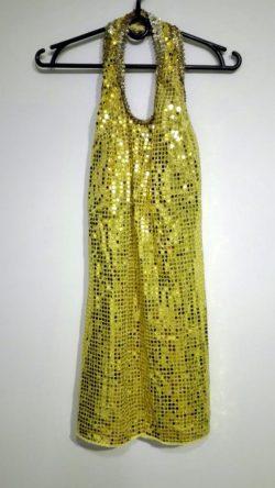 Strój Złota Sukienka