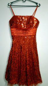 Strój Czerwona Sukienka