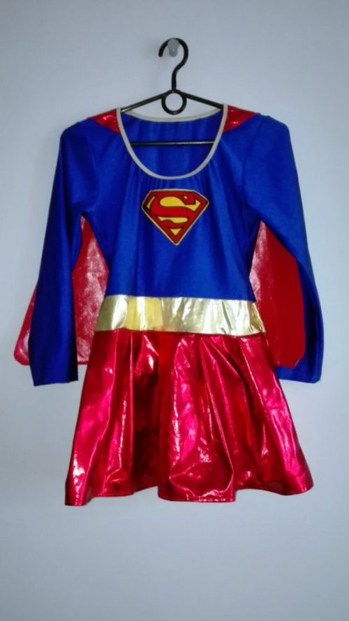 Kostium Supermenka