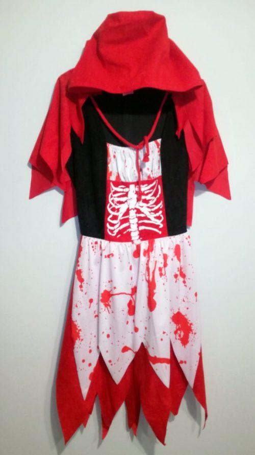 Kostium Czerwonego Kapturka dla kobiety