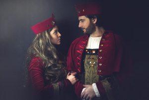 średniowieczne stroje dla dorosłych